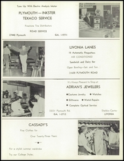 Bentley High School - Pioneer Yearbook (Livonia, MI) online yearbook collection, 1957 Edition, Page 121