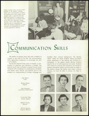 Bentley High School - Pioneer Yearbook (Livonia, MI) online yearbook collection, 1957 Edition, Page 15