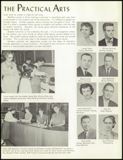 Bentley High School - Pioneer Yearbook (Livonia, MI) online yearbook collection, 1957 Edition, Page 21