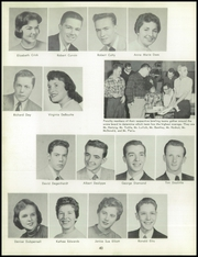 Bentley High School - Pioneer Yearbook (Livonia, MI) online yearbook collection, 1957 Edition, Page 44 of 140