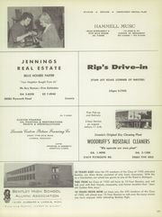 Bentley High School - Pioneer Yearbook (Livonia, MI) online yearbook collection, 1960 Edition, Page 173 of 200