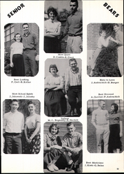 Bentleyville High School - Bear Yearbook (Bentleyville, PA) online yearbook collection, 1958 Edition, Page 37