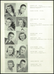 Benton Harbor High School - Greybric Yearbook (Benton Harbor, MI) online yearbook collection, 1949 Edition, Page 20