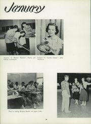 Benton Harbor High School - Greybric Yearbook (Benton Harbor, MI) online yearbook collection, 1957 Edition, Page 38