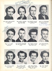 Benton Heights High School - Yearbook (Monroe, NC) online yearbook collection, 1953 Edition, Page 10 of 84