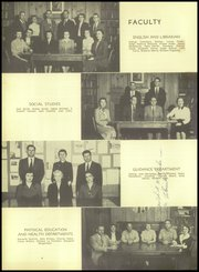 Bergenfield High school - Cross Roads Yearbook (Bergenfield, NJ) online yearbook collection, 1955 Edition, Page 8