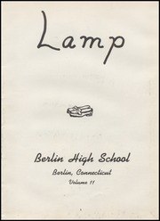 Berlin High School - Lamp Yearbook (Berlin, CT) online yearbook collection, 1947 Edition, Page 7 of 72