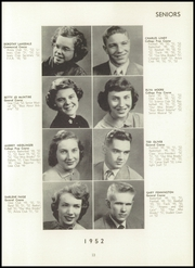 Berrien Springs High School - Canoe Yearbook (Berrien Springs, MI) online yearbook collection, 1952 Edition, Page 17