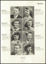 Berrien Springs High School - Canoe Yearbook (Berrien Springs, MI) online yearbook collection, 1952 Edition, Page 19