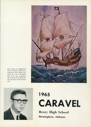 Berry High School - Caravel Yearbook (Birmingham, AL) online yearbook collection, 1965 Edition, Page 5 of 286