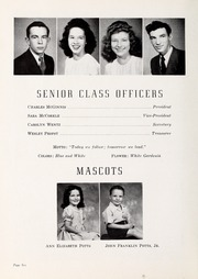 Berryhill High School - Link and Chain Yearbook (Charlotte, NC) online yearbook collection, 1947 Edition, Page 10