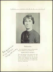 Birch Wathen Lenox High School - Archway (New York, NY) online yearbook collection, 1938 Edition, Page 8 of 78