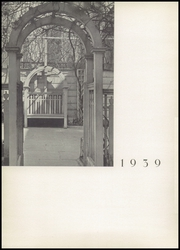 Birch Wathen Lenox High School - Archway (New York, NY) online yearbook collection, 1939 Edition, Page 6