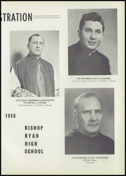 Bishop Ryan High School - Ryanlight Yearbook (Buffalo, NY) online yearbook collection, 1956 Edition, Page 11 of 88