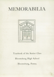 Bloomsburg High School - Memorabilia Yearbook (Bloomsburg, PA) online yearbook collection, 1948 Edition, Page 7 of 112