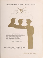 Bluestone High School - Golden Link Yearbook (Skipwith, VA) online yearbook collection, 1958 Edition, Page 7 of 152