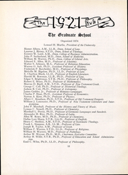 Boston University - HUB Yearbook (Boston, MA) online yearbook collection, 1921 Edition, Page 14