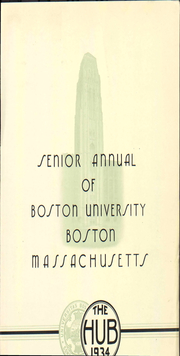 Boston University - HUB Yearbook (Boston, MA) online yearbook collection, 1934 Edition, Page 9
