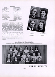Boston University - HUB Yearbook (Boston, MA) online yearbook collection, 1942 Edition, Page 277