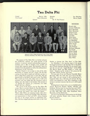 Boston University - HUB Yearbook (Boston, MA) online yearbook collection, 1951 Edition, Page 252