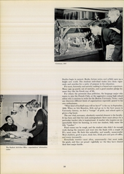 Boston University - HUB Yearbook (Boston, MA) online yearbook collection, 1958 Edition, Page 16