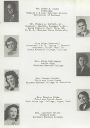 Box Elder High School - Bear Paw Yearbook (Box Elder, MT) online yearbook collection, 1950 Edition, Page 13 of 100