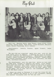 Box Elder High School - Bear Paw Yearbook (Box Elder, MT) online yearbook collection, 1950 Edition, Page 61 of 100