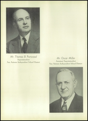 Brackenridge High School - La Retama Yearbook (San Antonio, TX) online yearbook collection, 1955 Edition, Page 16 of 318