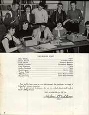 Bradford High School - Beacon Yearbook (Bradford, TN) online yearbook collection, 1963 Edition, Page 10