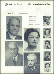 Bradford High School - Spy Yearbook (Kenosha, WI) online yearbook collection, 1954 Edition, Page 10