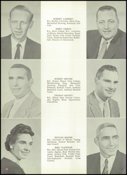 Bradley Bourbonnais Community High School - Bradleyan Yearbook (Bradley, IL) online yearbook collection, 1957 Edition, Page 14
