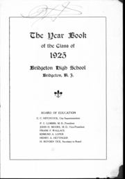 Bridgeton High School - Baconian Yearbook (Bridgeton, NJ) online yearbook collection, 1925 Edition, Page 4