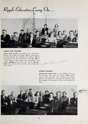 Broad Ripple High School - Riparian Yearbook (Indianapolis, IN) online yearbook collection, 1944 Edition, Page 17 of 76