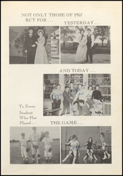 Brock High School - Eagle Yearbook (Weatherford, TX) online yearbook collection, 1957 Edition, Page 7
