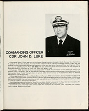Brooke (FFG 1) - Naval Cruise Book online yearbook collection, 1982 Edition, Page 7