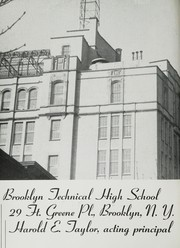 Brooklyn Technical High School - Blueprint Yearbook (Brooklyn, NY) online yearbook collection, 1945 Edition, Page 4