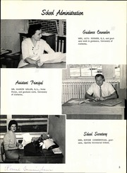 Brookwood High School - Pantheron Yearbook (Brookwood, AL) online yearbook collection, 1966 Edition, Page 9
