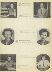 Brownsville High School - Palmetto Yearbook (Brownsville, TX) online yearbook collection, 1952 Edition, Page 15