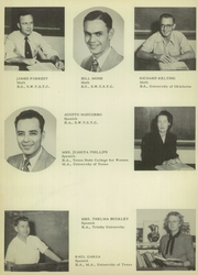 Brownsville High School - Palmetto Yearbook (Brownsville, TX) online yearbook collection, 1952 Edition, Page 16 of 184