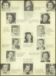 Brownwood High School - Pecan Yearbook (Brownwood, TX) online yearbook collection, 1950 Edition, Page 12