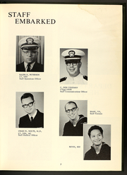 Buchanan (DDG 14) - Naval Cruise Book online yearbook collection, 1968 Edition, Page 9