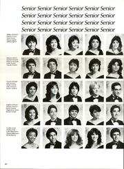 Burges High School - Hoofbeats Yearbook (El Paso, TX) online yearbook collection, 1985 Edition, Page 88