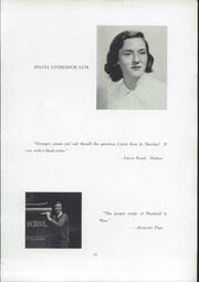 Buxton School - Yearbook (Williamstown, MA) online yearbook collection, 1950 Edition, Page 15 of 50