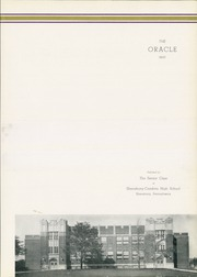 Cambria High School - Oracle Yearbook (Ebensburg, PA) online yearbook collection, 1933 Edition, Page 7