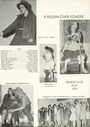 Camden Frontier High School - Redskin Yearbook (Camden, MI) online yearbook collection, 1974 Edition, Page 17