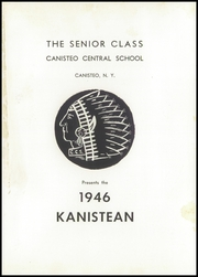 Canisteo High School - Kanistean Yearbook (Canisteo, NY) online yearbook collection, 1946 Edition, Page 5 of 94