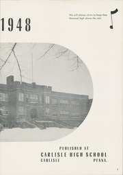 Carlisle High School - Oracle Yearbook (Carlisle, PA) online yearbook collection, 1948 Edition, Page 7 of 102