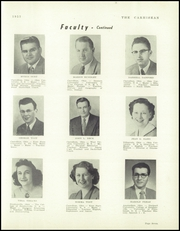 Carrollton High School - Carhisean Yearbook (Carrollton, OH) online yearbook collection, 1953 Edition, Page 11