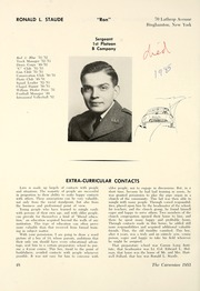 Carson Long Military Institute - Carsonian Yearbook (New Bloomfield, PA) online yearbook collection, 1953 Edition, Page 52