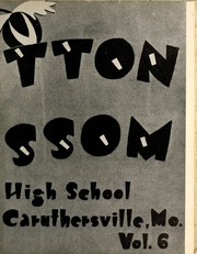 Caruthersville High School - Cotton Blossom Yearbook (Caruthersville, MO) online yearbook collection, 1955 Edition, Page 7